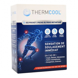 Thermcool Poche de froid instantanée - x2 poches