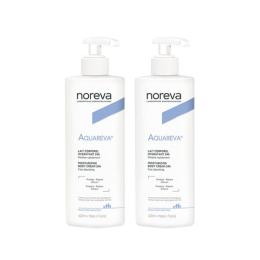 Noreva Aquareva lait corporel hydratant 24h - 2x400ml