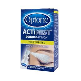 Optone ActiMist 2en1 Yeux Irrités - 10ml