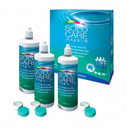 Menicon Solocare aqua - 3x360ml