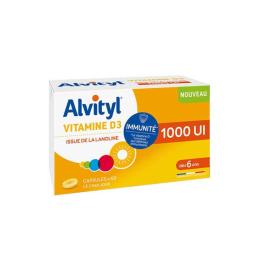 Alvityl Vitamine D3 1000 UI - 60 comprimés