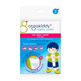 Orgakiddy sac pour vomir - 3 sacs