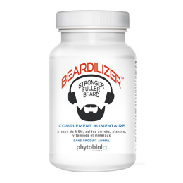 Beardilizer activateur pousse barbe 90capsules