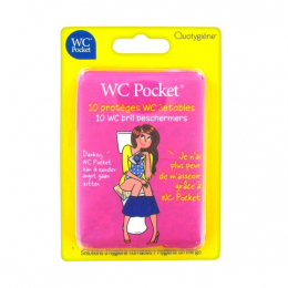 WC Pocket - 10 protèges WC jetables