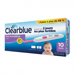 Clearblue Test d'Ovulation Digital - 10 tests