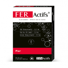 Synactifs Feractifs - 60 gélules