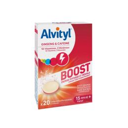 Alvityl Boost dès 15 ans - 20 comprimés effervescents