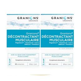 Granions Décontractant musculaire - 2x60 capsules