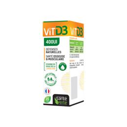 Santé verte Vitamine D3 400UI - 15ml