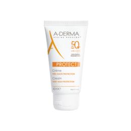 A-Derma Protect crème Sans parfum SPF50+ - 40ml