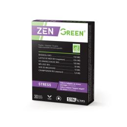 Aragan SynActifs ZenGreen BIO - 30 gélules