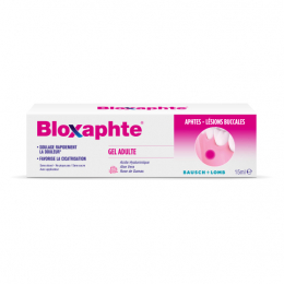 Bloxaphte gel adultes - 15ml