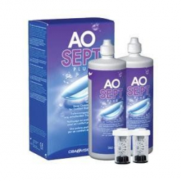 Aosept Duo Pack Plus - 2x360 ml