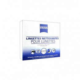 Zeiss Lingettes nettoyantes - Boite de 30
