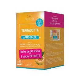 Biocyte Terracotta Après-soleil - 30 sticks