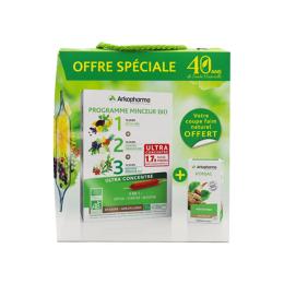 Arkopharma Arkofluides BIO programme minceur - 30 ampoules + Konjac 45 gélules OFFERT