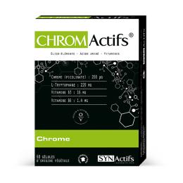 Aragan Synactifs Chromactifs - 60 gélules