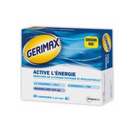 Gerimax Active l'énergie - 30 capsules