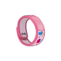 Para'kito Kids Bracelet anti-moustique + 2 recharges - Bracelet Rose Cup Cake