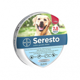 Bayer Seresto Collier antiparasitaire Grand chien