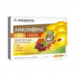Arkopharma Arkoroyal'fruits - 20 ampoules