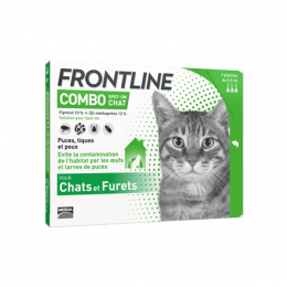 Frontline Combo chat - 3x0.5ml