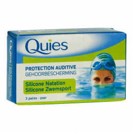 Quies maxi silicone natation - 3 paires
