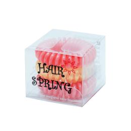 Hair Spring Élastiques magiques coral/gold - x3