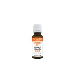 D.Plantes Vitamine D3++ huile 1000UI - 20ml