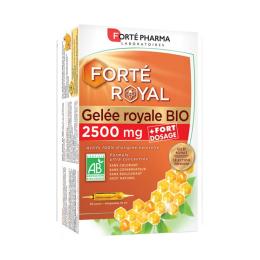 Forté Pharma Forté royal Gelée royale BIO 2500mg - 20 ampoules