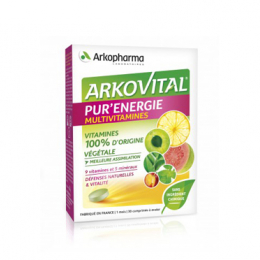 Arkopharma Arkovital pur'énergie multivitamines - 30 comprimés
