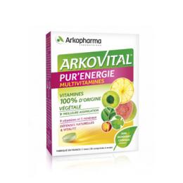 Arkopharma Arkovital Pur'énergie - 30 comprimés