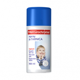 Mercurochrome spray à l'arnica - 100ml