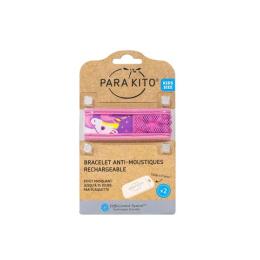Parakito Bracelet anti-moustique rechargeable Licorne - 3-7 ans