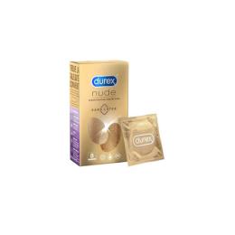 Durex Nude Sans latex - 8 préservatifs