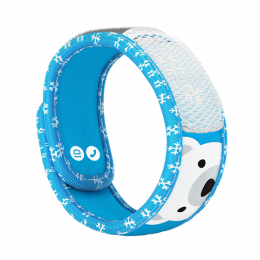 Para'kito Kids Bracelet anti-moustique + 2 recharges - Bracelet polar bear