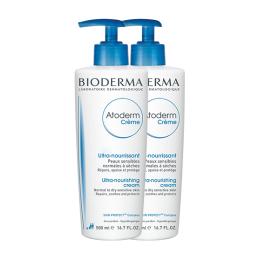 Bioderma atoderm crème ultra-nourrissante - 2x500ml