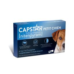 Capstar 11.4mg petits chiens - 6 comprimés