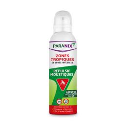 Paranix Répulsif anti moustique zones tropiques et infestées - 125ml