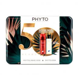 Phyto coffret Phytolaque soie 100ml + Phytojoba shampooing 100ml OFFERT