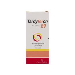 Tardyferon B9 - 30 comprimés pelliculés
