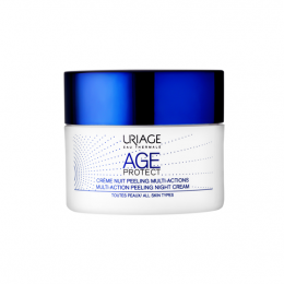 Uriage Age-protect crème nuit peeling multi-actions - 50ml