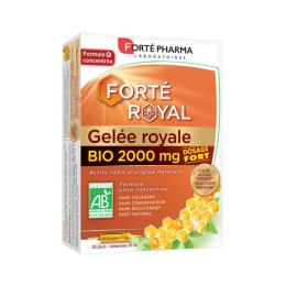 Forté Pharma Forté Royal Gelée royale BIO 2000mg - 20 ampoules