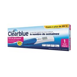 Clearblue test de grossesse digital avec estimation de l'âge