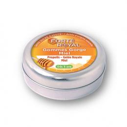 Forté Pharma Forté Royal gommes gorge miel dès 5 ans - 45g