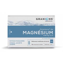 Granions de Magnésium - x30 ampoules