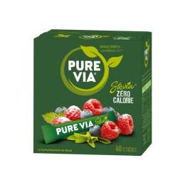 Pure Via Stevia - 40 sticks