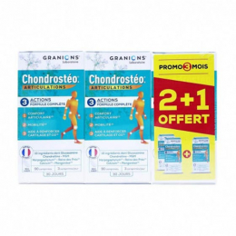 Granions Chondrostéo+ - 2x90 comprimés + 90 OFFERTS