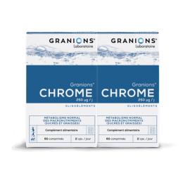 Granion Chrome 250MG - 2x60 comprimés