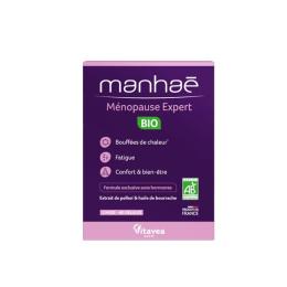 Manhae Ménopause Expert BIO - 60 gelules